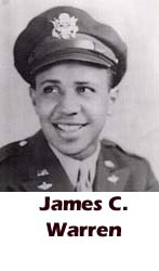 James C. Warren, Tuskegee Airmen, African-American history, military history, aviation history