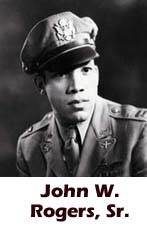 John W. Rogers, Tuskegee Airmen, African-American history, military history, aviation history