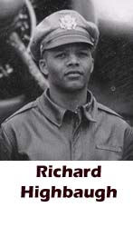 Richard Highbaugh, Tuskegee, African-American history, military history, aviation history