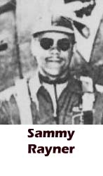 Sammy Rayner, Tuskegee, African-American history, military history, aviation history