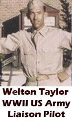Welton Taylor, Tuskegee, African-American history, military history, aviation history