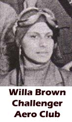 Willa Brown, Tuskegee, African-American history, military history, aviation history