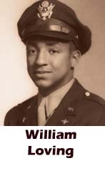 Willian Loving, Tuskegee, African-American history, military history, aviation history