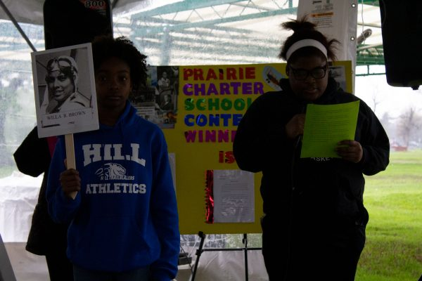 Prairie Charter School, African-American history, military history, aviation history