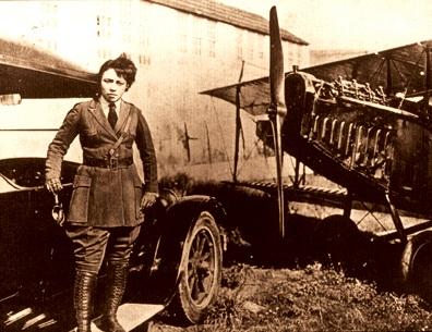 Bessie Coleman, Bi-Plane