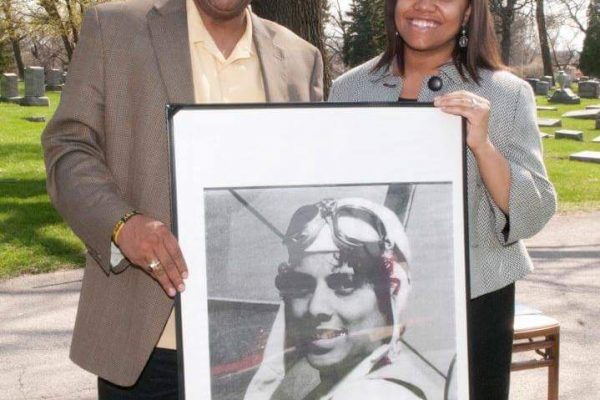 Decendants of Aviatrix Willa Brown, African-American history, military history, aviation history