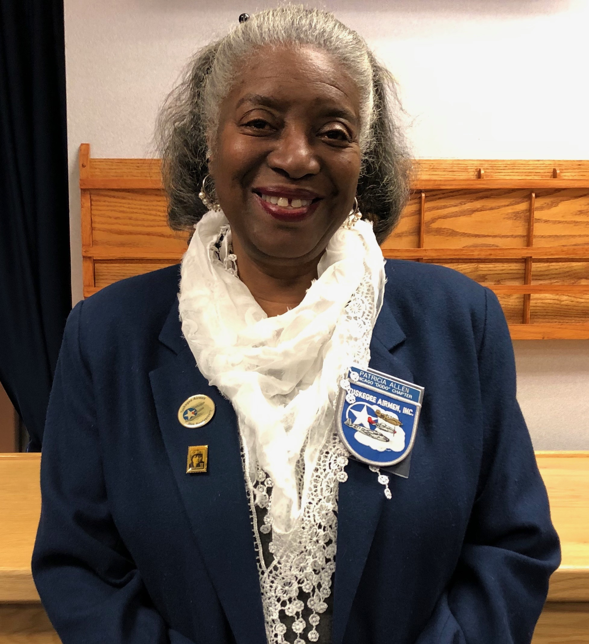 Patricia Allen, Treasurer, African-American history, military history, aviation history